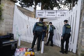 La Guardia Civil detiene al supuesto autor del incendio en Ses Tres Germanes