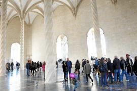 El gótico de sa Llonja ha atraído este año a más de 420.000 visitantes