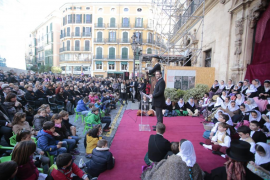 Hila reivindica el protagonismo de Palma en la Festa de l'Estendard