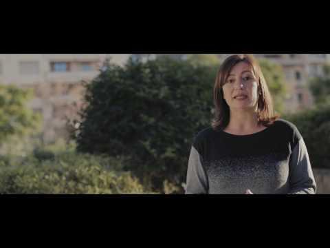 Armengol ofrece un discurso de Fin de Año a pie de calle remarcando los logros sociales