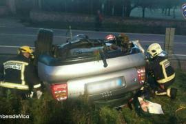Fallece un conductor tras perder el control de su coche en la autovía de Inca