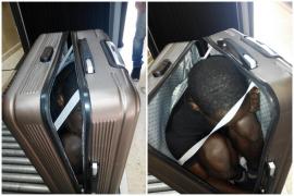 Detenida una marroquí por esconder a un inmigrante dentro de una maleta