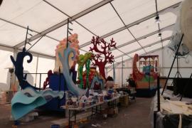 Todo a punto para una Cabalgata de Reyes en Palma con más música en vivo