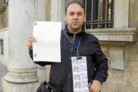 Un vendedor de la ONCE de Palma denuncia a un cliente por no pagarle 21 cupones