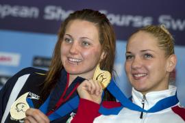 La mallorquina Melanie Costa gana la medalla de plata en los 400 libre