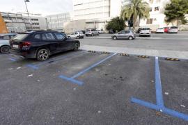 Nuevas plazas de aparcamiento de la zona azul en Vila