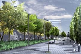 Cort aprueba con la abstención del PP la continuidad del Parc de les Vies