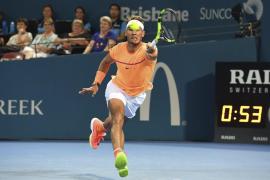 Nadal supera de forma clara a Zverev y se volverá a topar con Raonic en cuartos de Brisbane