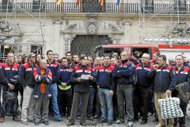 Los Bombers de Palma reclaman un «profundo cambio» en la gestión del Cuerpo