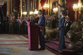 El Rey pide «no escatimar esfuerzos» para combatir la «lacra del terrorismo»