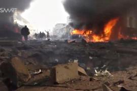 Un atentado con coche bomba deja al menos 43 muertos en el norte de Alepo