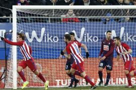El Atlético recupera su estilo para imponerse al Eibar en Ipurúa