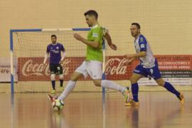 Una victoria trabajada aúpa al Palma Futsal a la cuarta posición