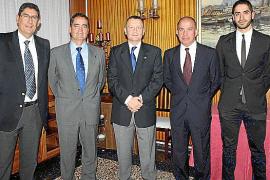 Cena de despedida de José Ramón Pérez y Rafael Baena