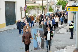La procesión de Sant Sebastià abre otra vez la polémica en es Capdellà
