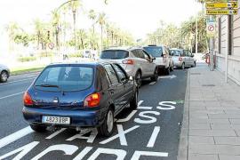 Varias zonas de Palma superan el nivel de contaminación de aire permitido