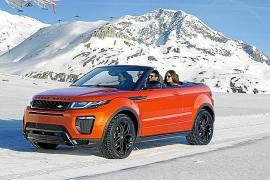El Range Rover Evoque Convertible elegido 'Coche Fotogramas 2017'