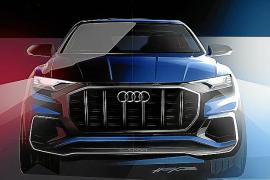 El Q8 Concept debutará en el Salón de Detroit 2017