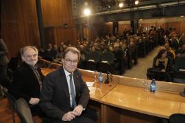 Artur Mas dice en Palma que su juicio alimentará un clima favorable al referéndum