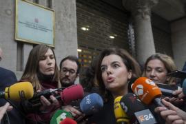Santamaría y Junqueras verifican sus diferencias insalvables sobre el referéndum