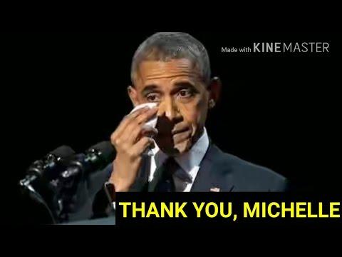 El emotivo mensaje de Barack Obama a su mujer en su discurso de despedida