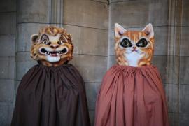 'Met' y 'Nena', dos nuevas figuras en las fiestas de Sant Sebastià 2017