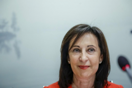 Margarita Robles: «Voy a estar siempre con Pedro Sánchez»