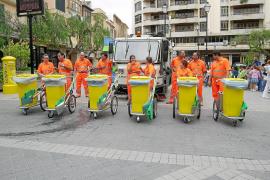 El STEI denuncia «coacciones» a los trabajadores de la brigada de la limpieza