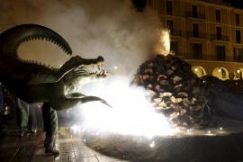 Palma celebra Sant Sebastià 2017 con una 'Revetlla' de música y fuego