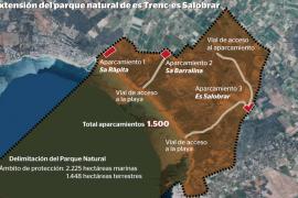 El Consell de Govern aprobará el proyecto de ley del Parc Natural es Trenc-Salobrar