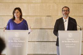 Armengol tiene «muy claro» que Huertas debe cesar de presidenta del Parlament