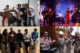 La Porta Santa Catalina se llena por Sant Sebastià 2017 de jazz y de swing con Maria Rosselló i Els Botifafarrons
