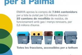 Emaya adquiere 25 camiones y casi 8.000 contenedores por 11,2 millones de euros