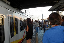 La noche de la Revetla de Sant Antoni no habrá trenes a sa Pobla ni a Manacor