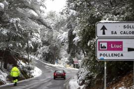 La masa de aire polar traerá el fin de semana a Baleares vientos de hasta 100 km/hora