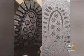 Retiran del mercado unas botas, cuya suela deja la huella de la esvástica Nazi
