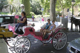 Ciudadanos pide al Ajuntament de Palma que mejore las paradas de las galeras