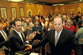Rodríguez se da un baño de masas ante Bauzá en la presentación de su programa