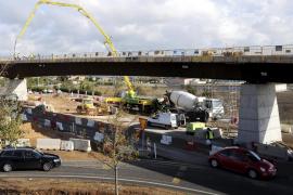 El puente de acceso a Son Espases estará abierto al tráfico el próximo jueves