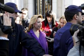 Munar, a su llegada a los Juzgados: «De aquí a Hollywood»