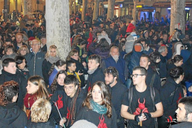 El barrio de Gràcia toma sa Pobla