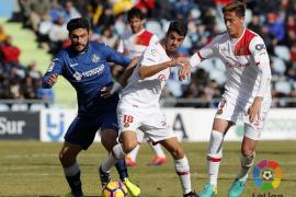 Un inexistente penalti evita el triunfo del Mallorca en Getafe