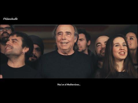 Joan Manuel Serrat estrena una versión de 'Mediterráneo' en apoyo a los refugiados