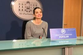 Prohens acusa a Armengol de «hacer de escudera» de Puigdemont