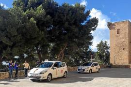 Los taxistas de Palma exigen a Cort que legalice la parada del Mirador