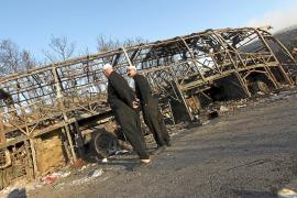 Israel lucha con ayuda internacional contra el mayor incendio de su historia