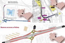 El Consell licita tres obras para descongestionar los accesos a Palma
