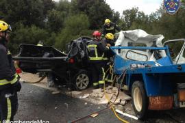 Dos muertos en un accidente de tráfico en Artà