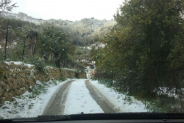 Nieve en Mallorca