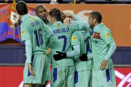 El Barça sale airoso de la alocada visita a Pamplona